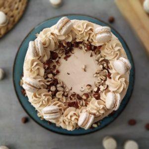 Torta Assoluta alle Nocciole e Cioccolato bianco