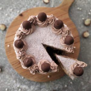 Torta Golosa al Cocco e Cioccolato al latte