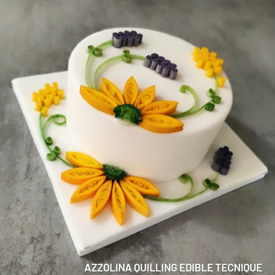 Azzolina Quilling Edible Tecnique