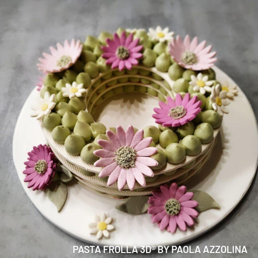 Pasta FROLLA 3D® - Cream Tart Floreale Paola Azzolina